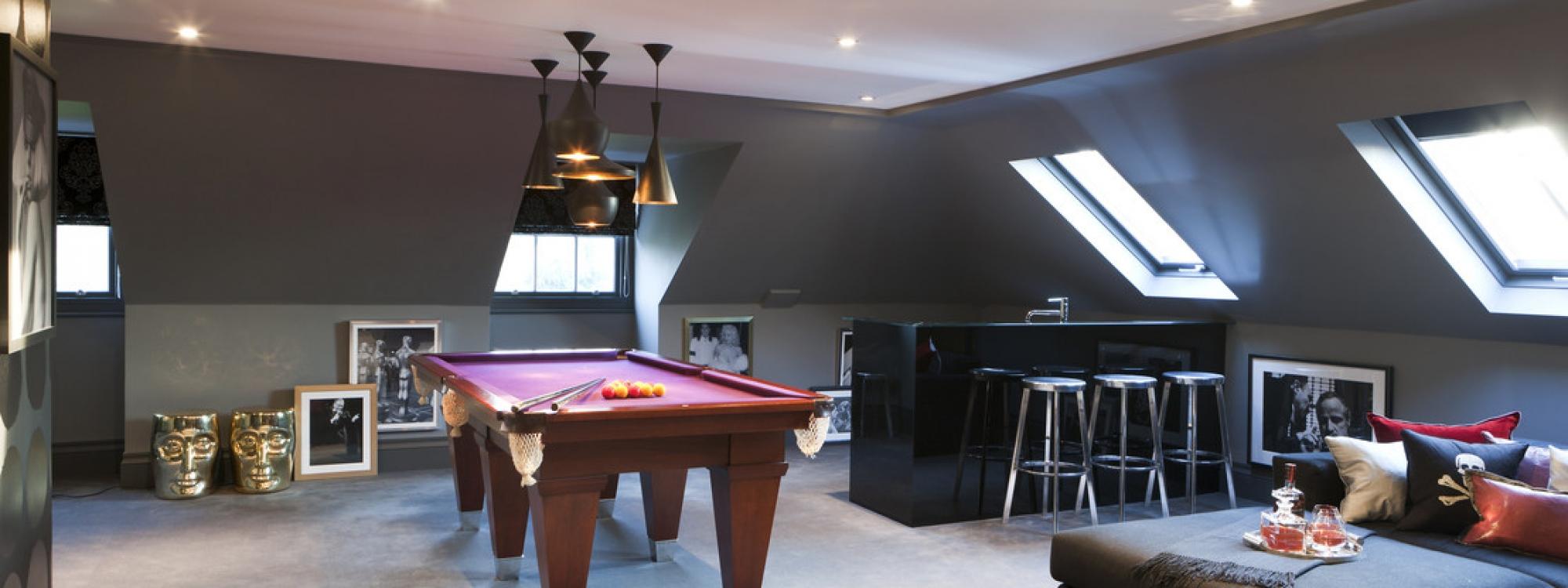 Games Room Loft Conversion